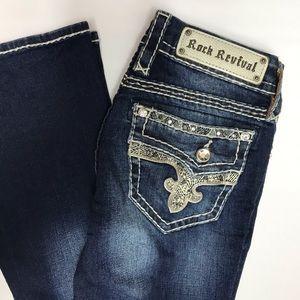 Rock Revival Janelle Boot Jeans - size 25